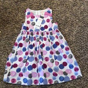 Gymboree zip back NWT dress size 4